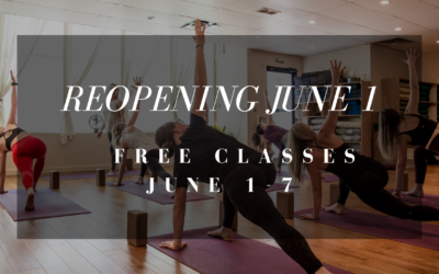 Reopening JUNE 1