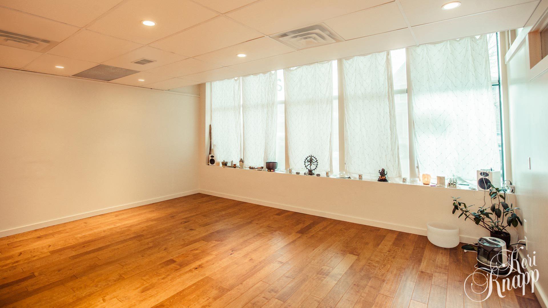 Balu Yoga studio in Revelstoke, BC